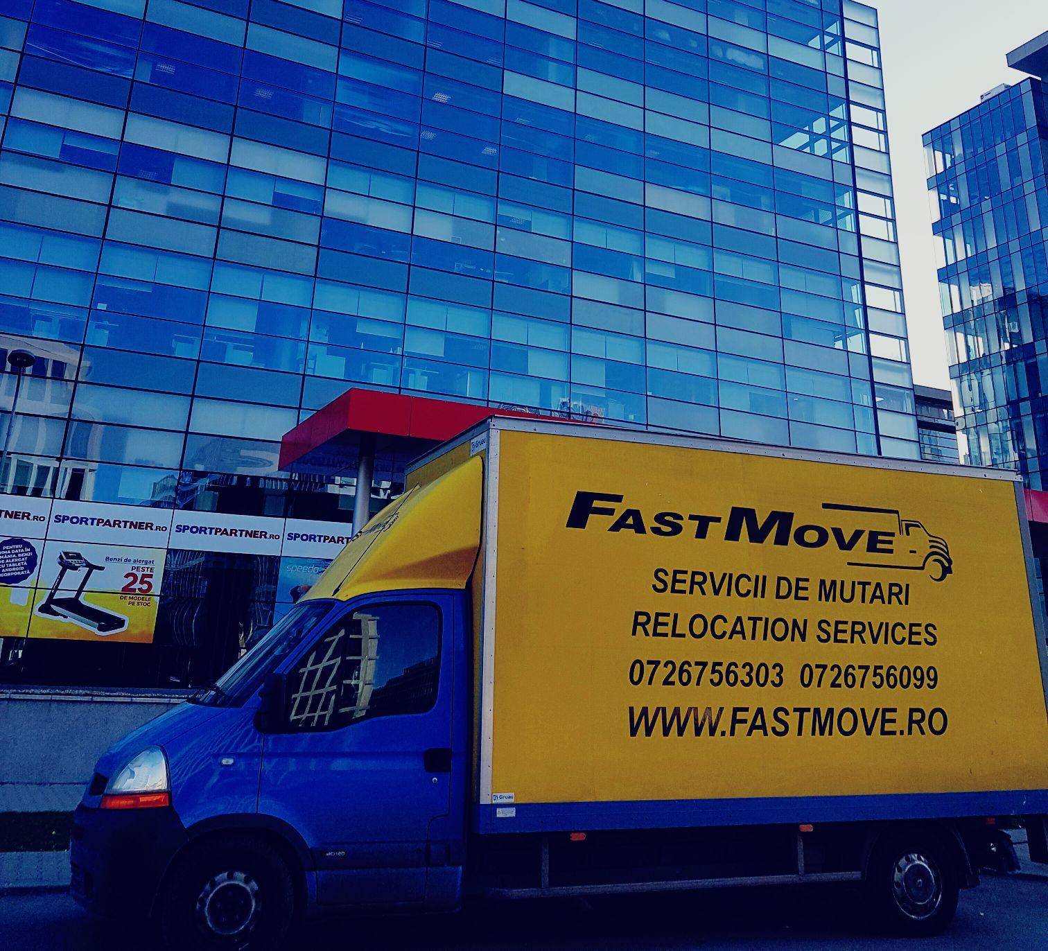 Fastmove ofera servicii complexe pentru mutari mobila bucuresti.